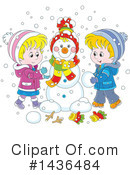 Royalty-Free (RF) Winter Clipart Illustration #1436484