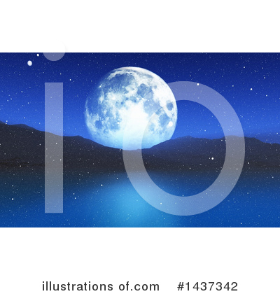 Moon Clipart #1437342 by KJ Pargeter