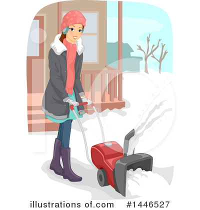 Royalty-Free (RF) Winter Clipart Illustration by BNP Design Studio - Stock Sample #1446527