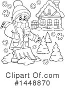 Royalty-Free (RF) Winter Clipart Illustration #1448870