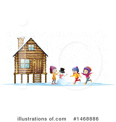 Cabin Clipart #1468886 by Graphics RF