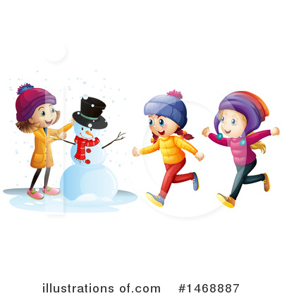 Snowman Clipart #1468887 by Graphics RF