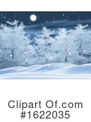 Winter Clipart #1622035 by KJ Pargeter