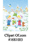 Winter Clipart #1681003 by Alex Bannykh