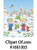 Winter Clipart #1681005 by Alex Bannykh