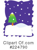 Royalty-Free (RF) winter Clipart Illustration #224790