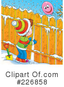 Royalty-Free (RF) Winter Clipart Illustration #226858