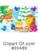 Royalty-Free (RF) winter Clipart Illustration #30489