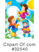Royalty-Free (RF) Winter Clipart Illustration #32040