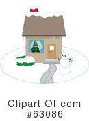 Royalty-Free (RF) winter Clipart Illustration #63086