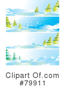 Royalty-Free (RF) Winter Clipart Illustration #79911