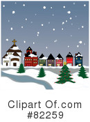 Royalty-Free (RF) winter Clipart Illustration #82259