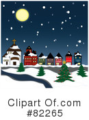 Royalty-Free (RF) Winter Clipart Illustration #82265