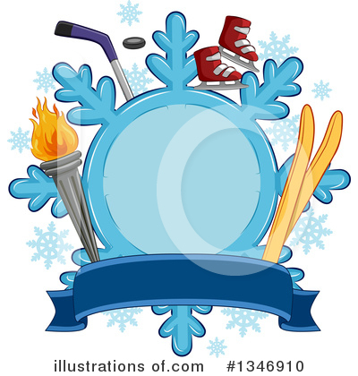Snowflakes Clipart #1346910 by BNP Design Studio