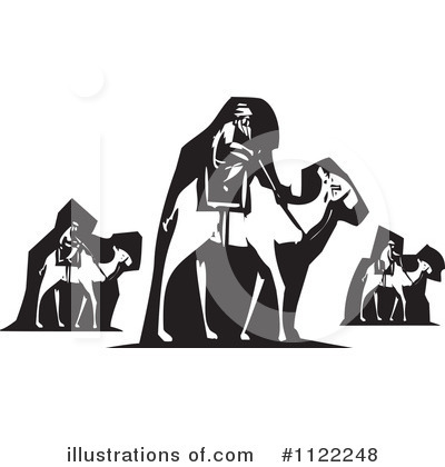 Royalty-Free (RF) Wise Men Clipart Illustration by xunantunich - Stock Sample #1122248