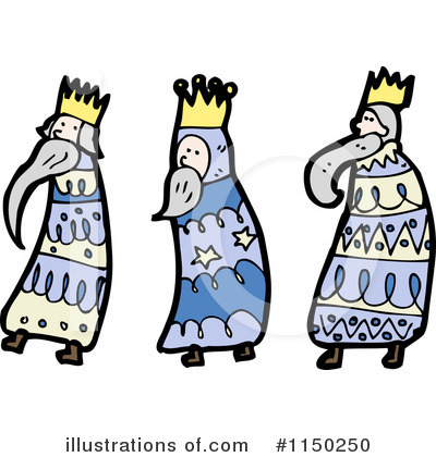 Wise Men Clipart #1150250 by lineartestpilot