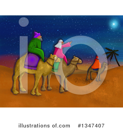 Royalty-Free (RF) Wise Men Clipart Illustration by Prawny - Stock Sample #1347407