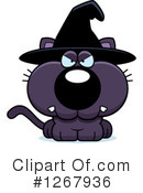 Witch Cat Clipart #1267936 by Cory Thoman