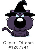 Witch Cat Clipart #1267941 by Cory Thoman