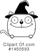 Witch Cat Clipart #1450593 by Cory Thoman