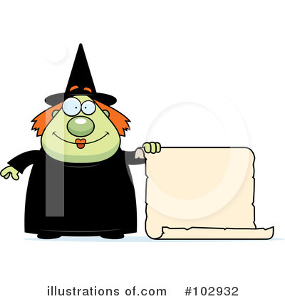 Witch Clipart #102932 by Cory Thoman