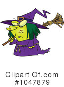 Witch Clipart #1047879 by toonaday