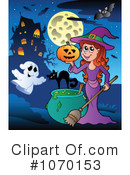 Witch Clipart #1070153 by visekart