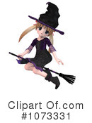 Witch Clipart #1073331 by Ralf61