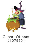 Witch Clipart #1079901 by yayayoyo