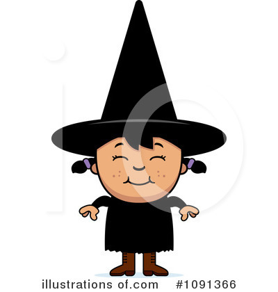 Witch Clipart #1091366 by Cory Thoman