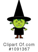 Witch Clipart #1091367 by Cory Thoman