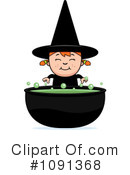 Witch Clipart #1091368 by Cory Thoman