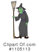 Witch Clipart #1105113 by Cartoon Solutions