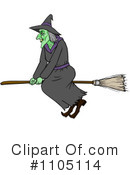 Witch Clipart #1105114 by Cartoon Solutions