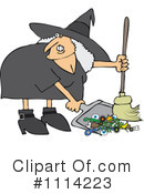 Witch Clipart #1114223 by djart