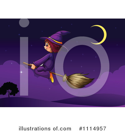 Witch Clipart #1114957 by Graphics RF