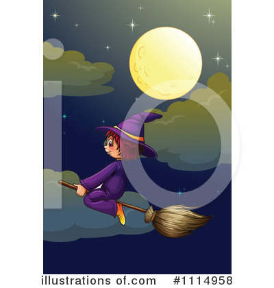 Witch Clipart #1114958 by Graphics RF
