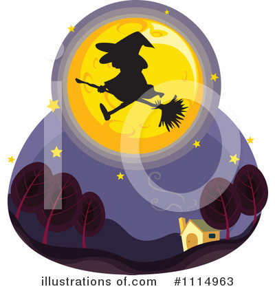 Witch Clipart #1114963 by Graphics RF