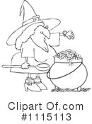 Witch Clipart #1115113 by djart