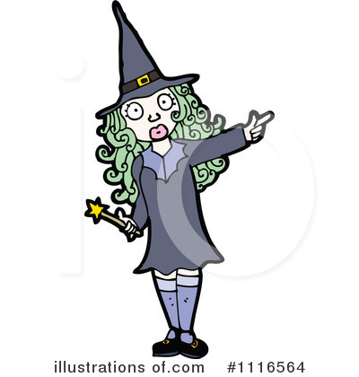 Witch Clipart #1116564 by lineartestpilot