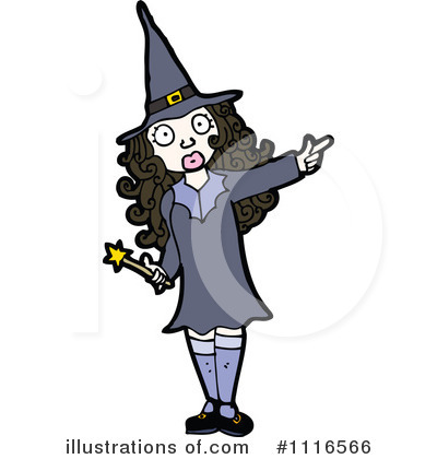 Witch Clipart #1116566 by lineartestpilot