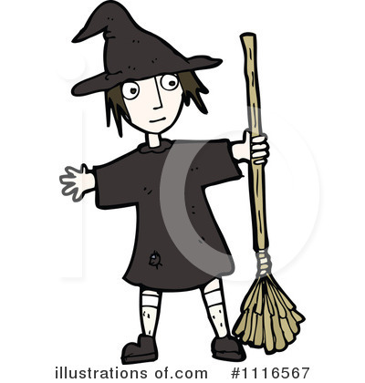 Witch Clipart #1116567 by lineartestpilot