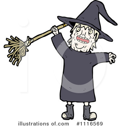 Witch Clipart #1116569 by lineartestpilot