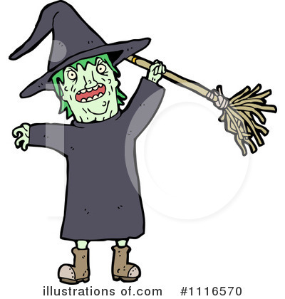Witch Clipart #1116570 by lineartestpilot