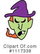 Witch Clipart #1117338 by Zooco