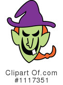 Witch Clipart #1117351 by Zooco