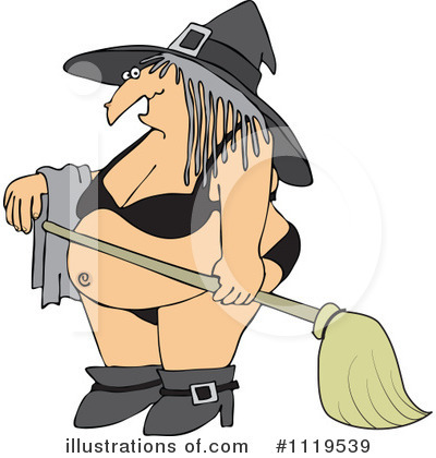 Witch Clipart #1119539 by djart