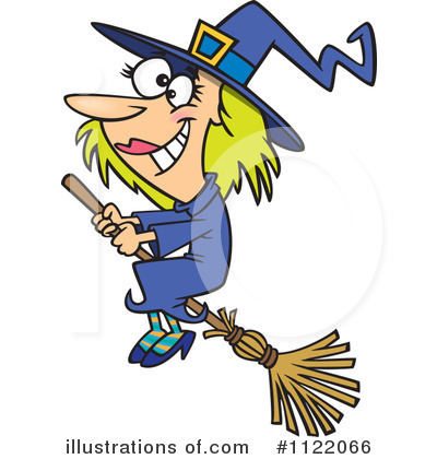 Witch Clipart #1122066 by toonaday