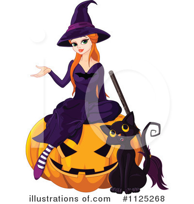 Witch Clipart #1125268 by Pushkin