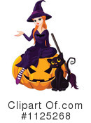 Royalty-Free (RF) Witch Clipart Illustration #1125268